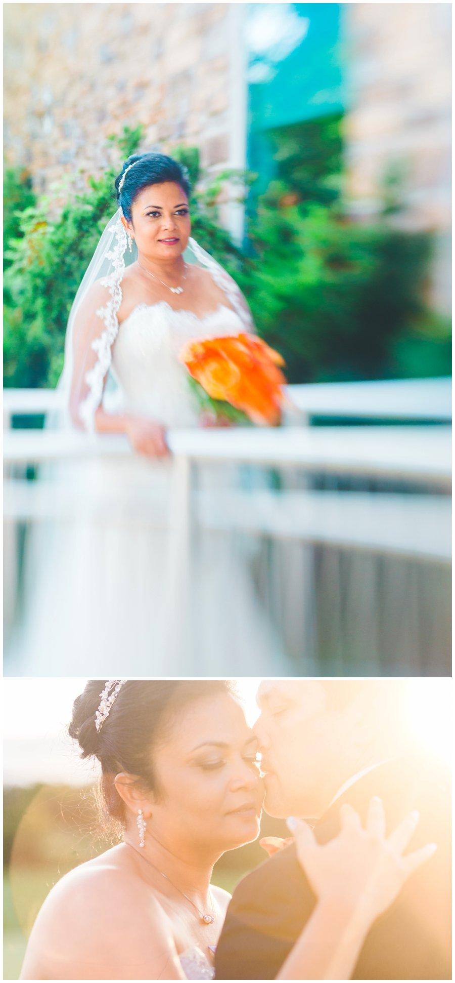 lensbaby bridal portrait