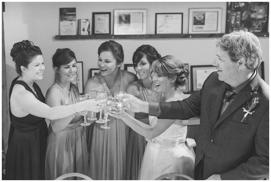 bridesmaids toast