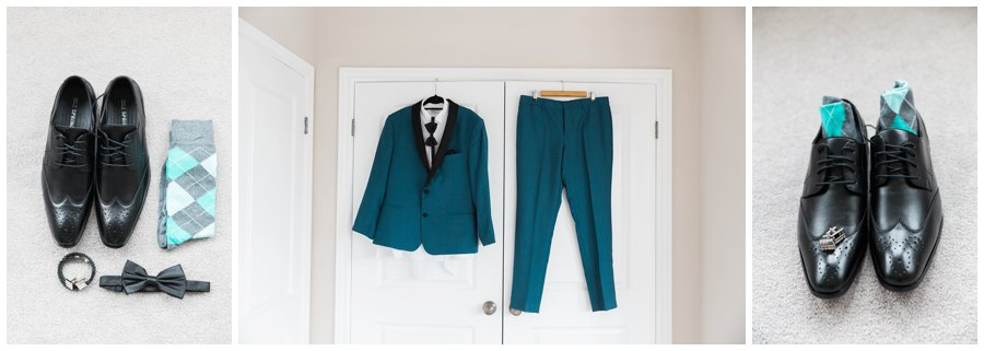Jewel Toned Groom's Suit
