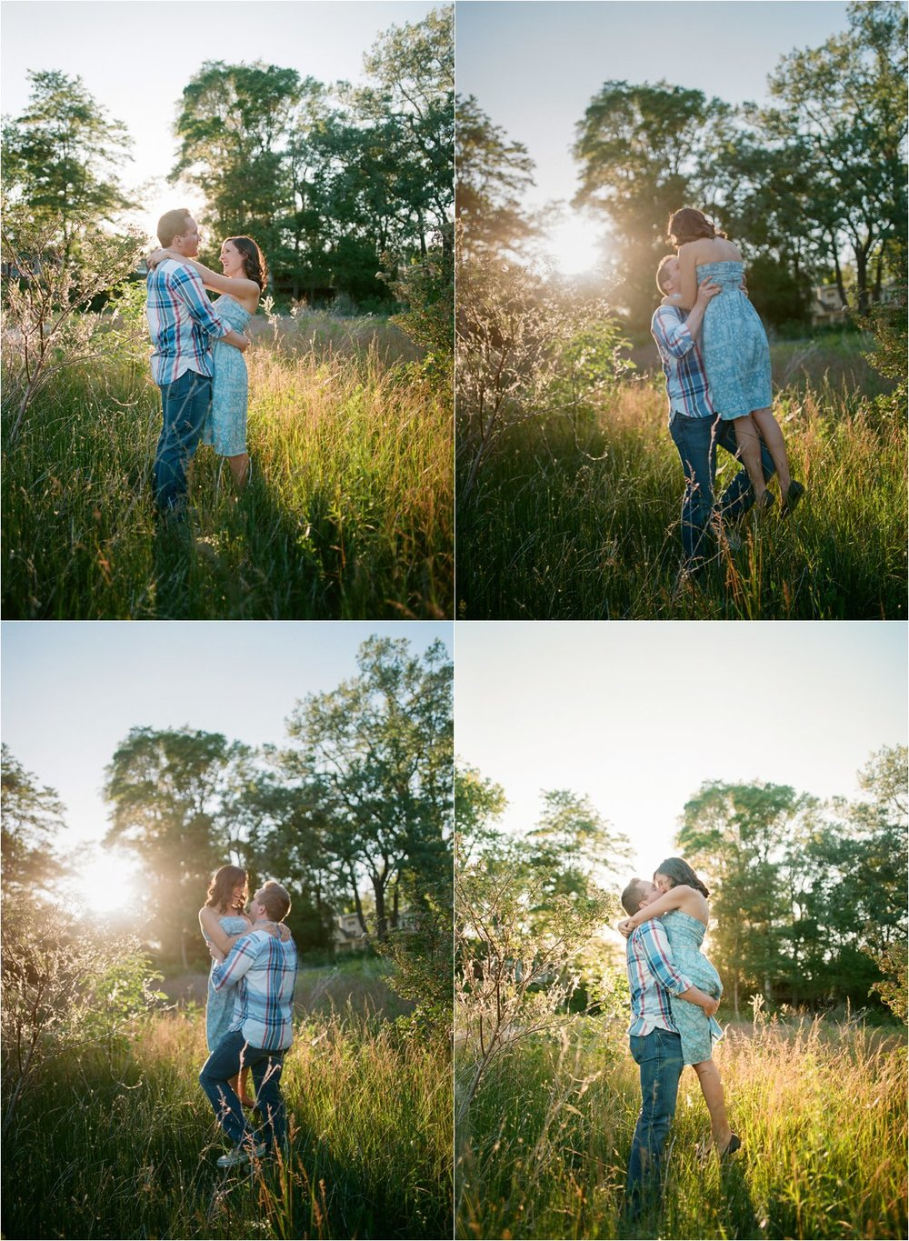 toronto island engagement session film