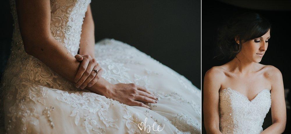 wedding portrait of bride