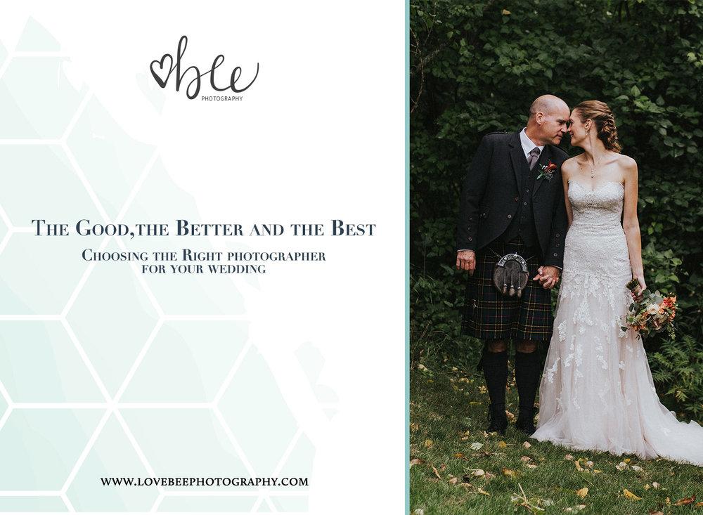 Choosing the best wedding photographer