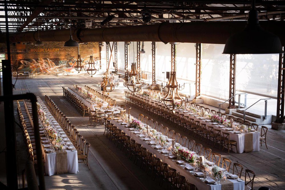 EVERGREEN BRICKWORKS - who wouldnt want to shoot at this hip spot!?  Photo Credit : Luminous Weddings