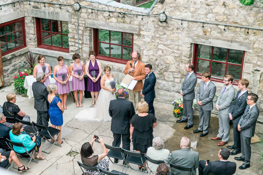 alton mill wedding ceremony caledon ontario
