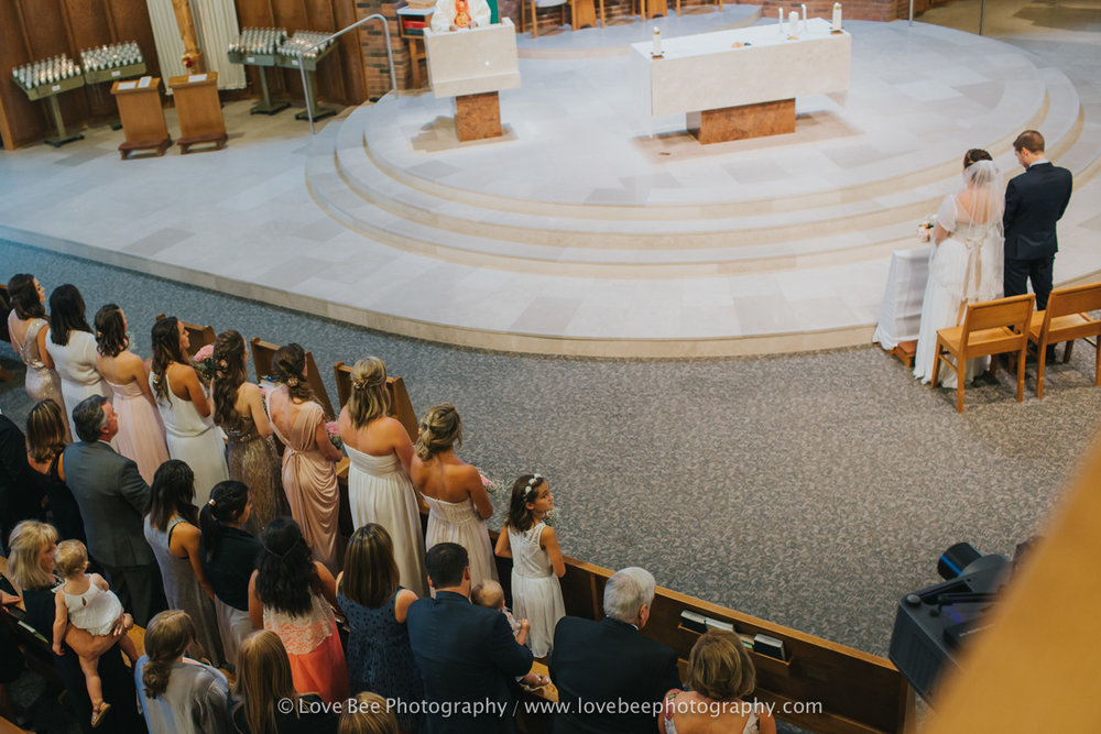 Odd numbered Bridal Parties and where to sit at ceremony
