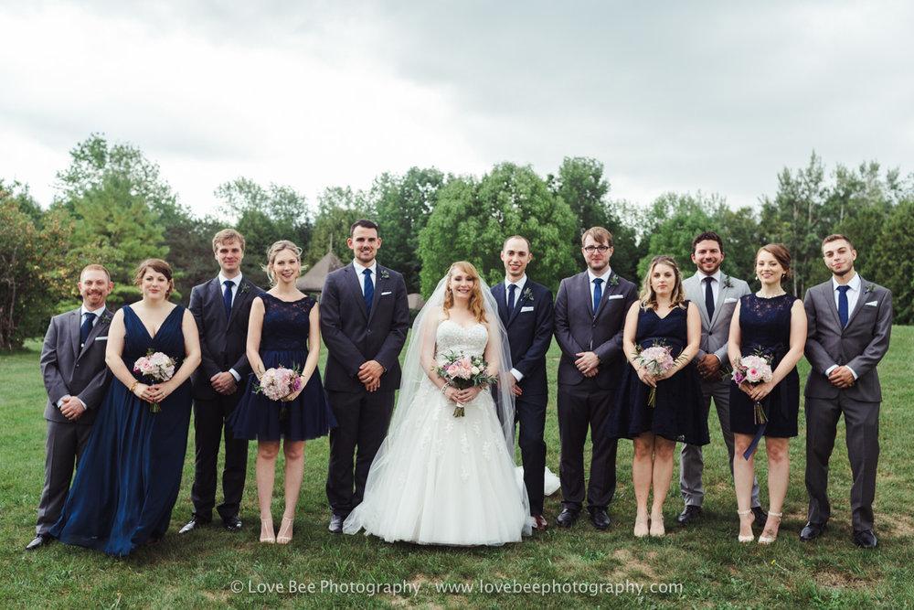 Orangeville wedding portraits MOnora Park