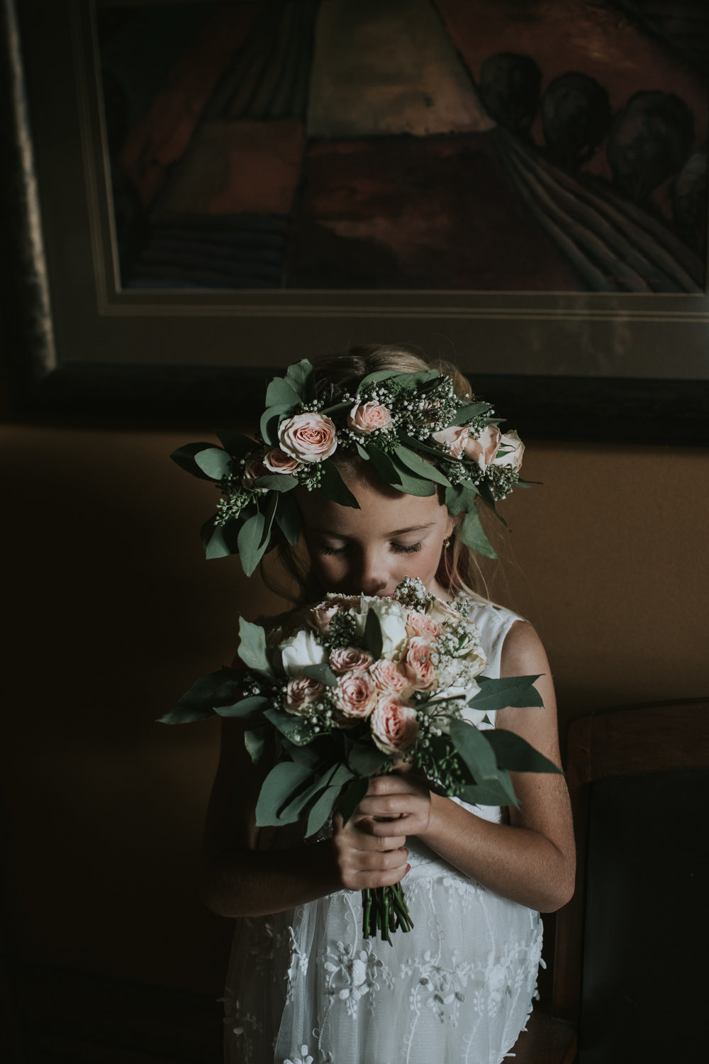 The sweetest flower girl
