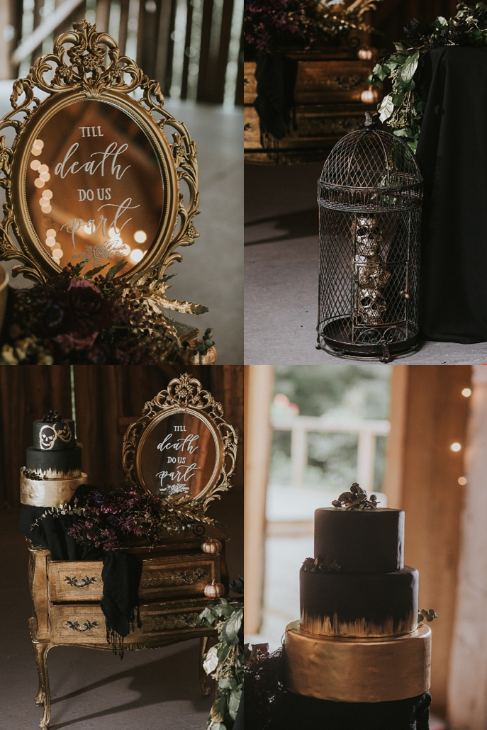 Valley Croft Glam Gold and Black Halloween Wedding-23.jpg