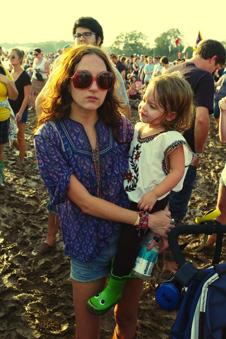 Austin City Limits. Rachel and Harper Lee Hunt. Harper's first Dead Weather show. And ours too.