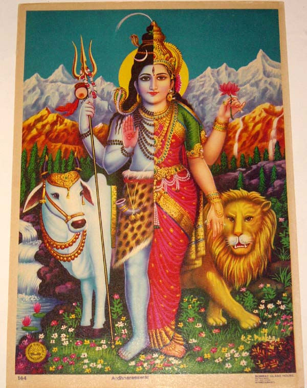 theworldpulse :     Ardhanarishvara