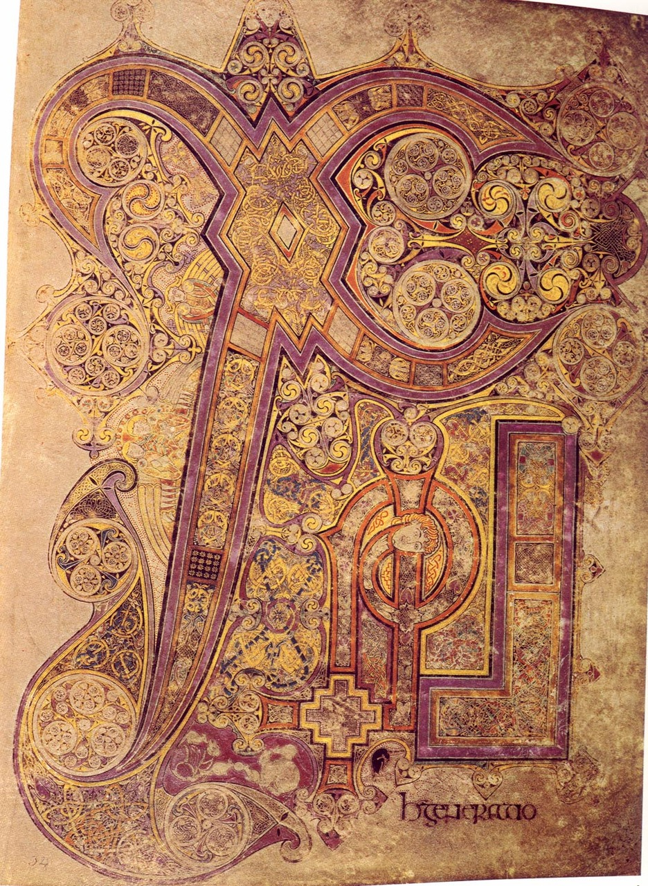 cosmic-dust: luminousinsect The Book Of Kells