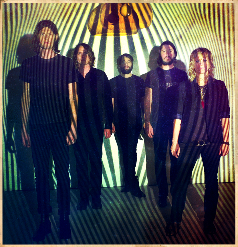 The Black Angels.  Friends and family. Check out their performance on David Letterman the other night. This is from our press shoot we did early summer. So excited for them!