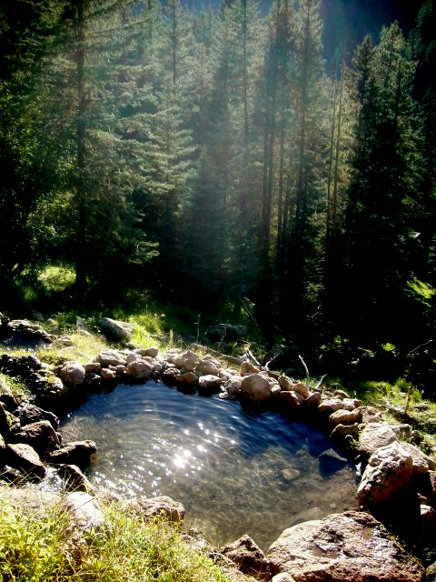 miss-mary-quite-contrary: where i spent my weekend, San Antonio hot springs deep in the Santa Fe National Forest AMAZING!