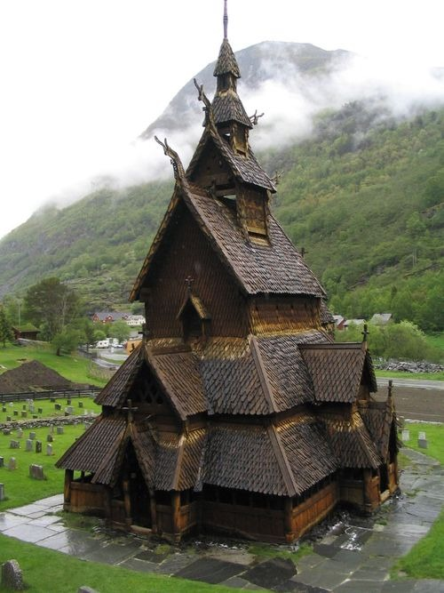 thehermitage: indigenousdialogues: Borgund Church, Norway Spirit House suninscorpio awesomespaces uoe