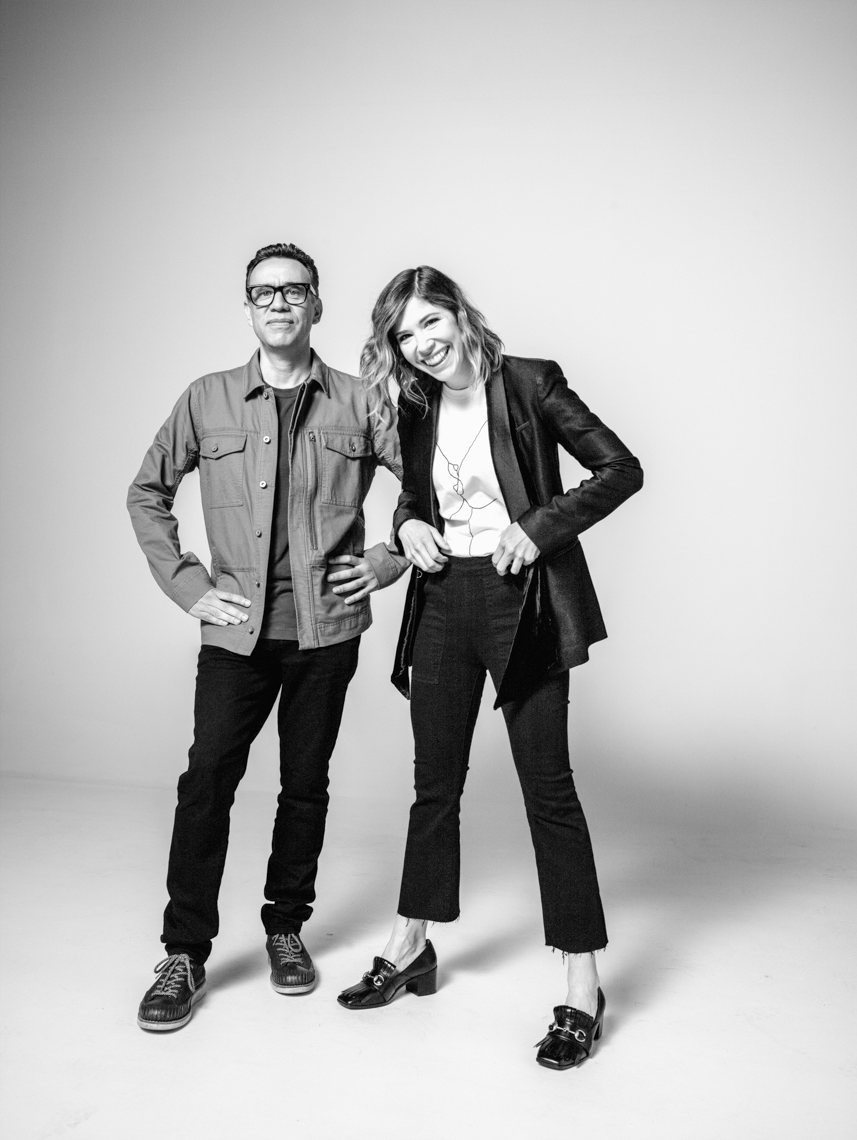 Carrie Brownstein and Fred Armisen for Portlandia Season 7 Promo