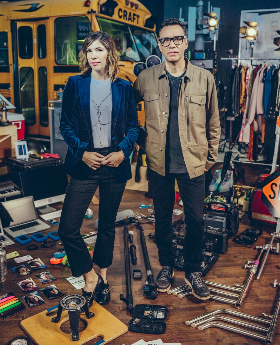Carrie Brownstein and Fred Armisen for Portlandia Season 7 Promo