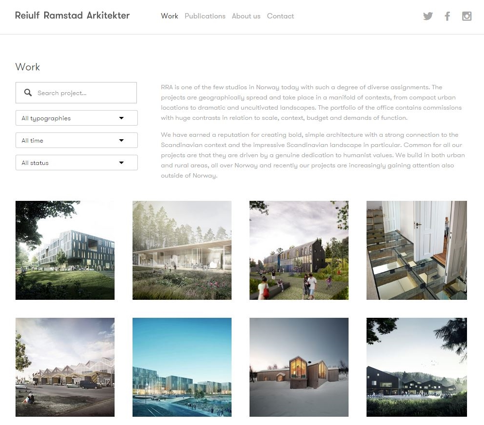 We're proud to present our new websites at www.reiulframstadarchitects.com.