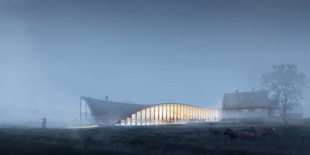 Mols Bjerge Visitor Center - competition 2016