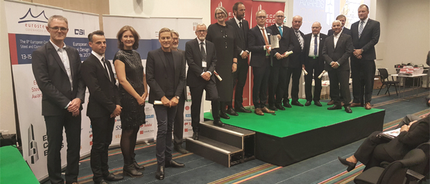The team received the Award at a ceremony in Copenhagen on Friday 15th Sept.