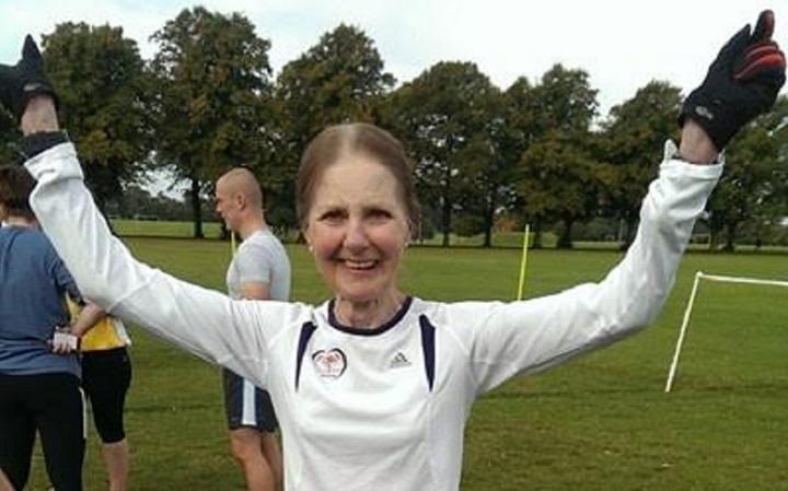 Diana Green, 81 This year, Diana will run the London Marathon – for the 13th time – on her 82nd birthday.