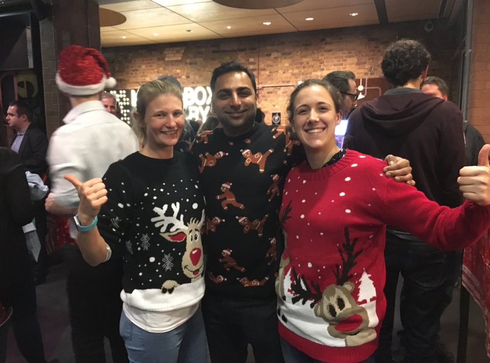 Christmas jumper comp!