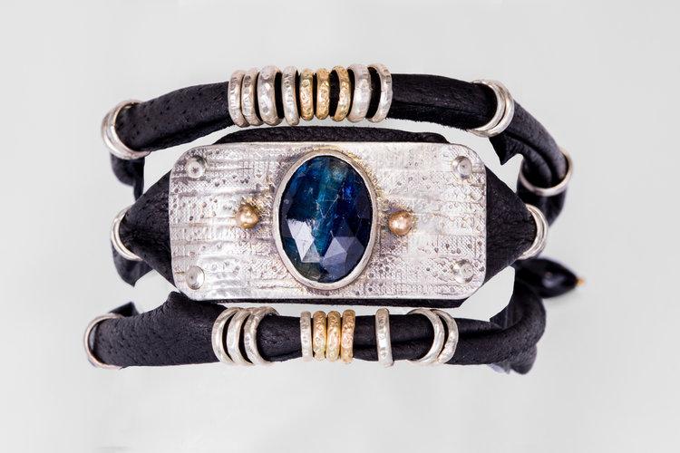 Blue Kyanite 3 Wrap