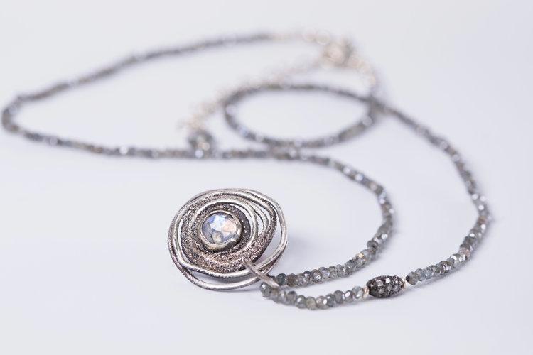 Moonstone Estrella Necklace