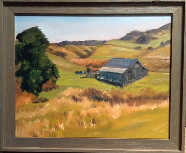Denis Shaw - Grey Barn, San Gregorio