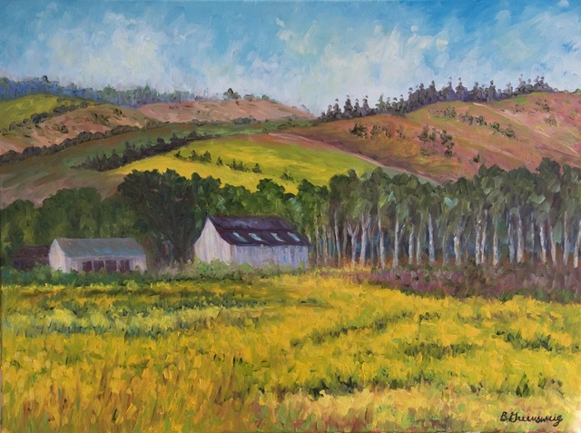[SOLD] Barbara Greensweig - Golden Fields