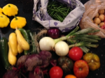 Thankful for farmers and the food they provide--from my farmer's market today!