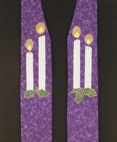 A new  Advent stole  (limited edition)