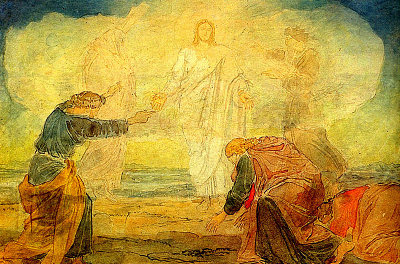 Transfiguration by  Alexander Andreyevich Ivanov, 1824