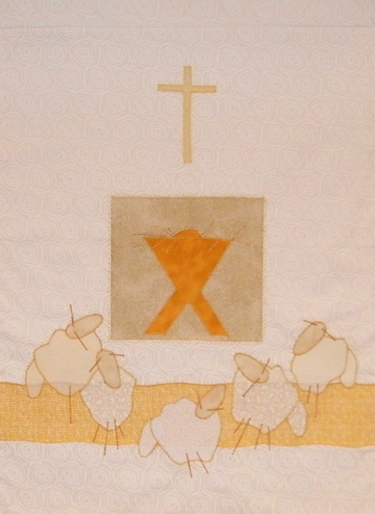 4a3abf6a83 515 Christmas - Glorifying and Praising Him banner parament wall ...