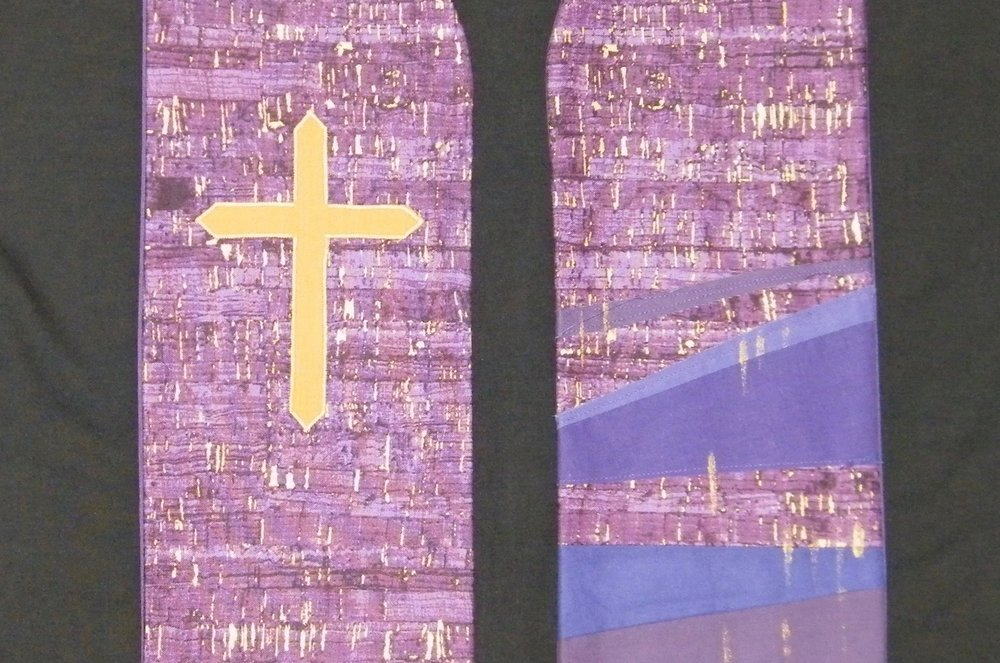 Passion cross stole - $143.00