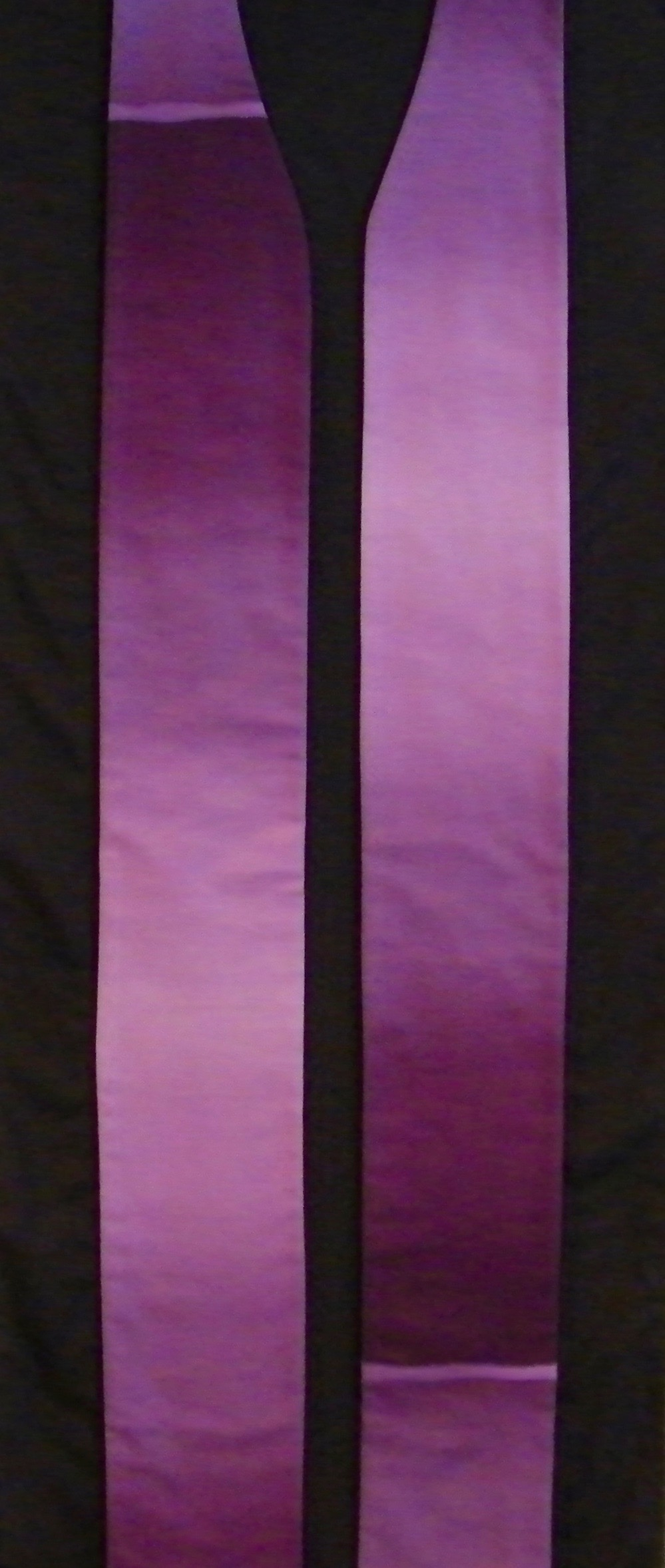 Ombre fabric - Perfect for a stole for Lent!