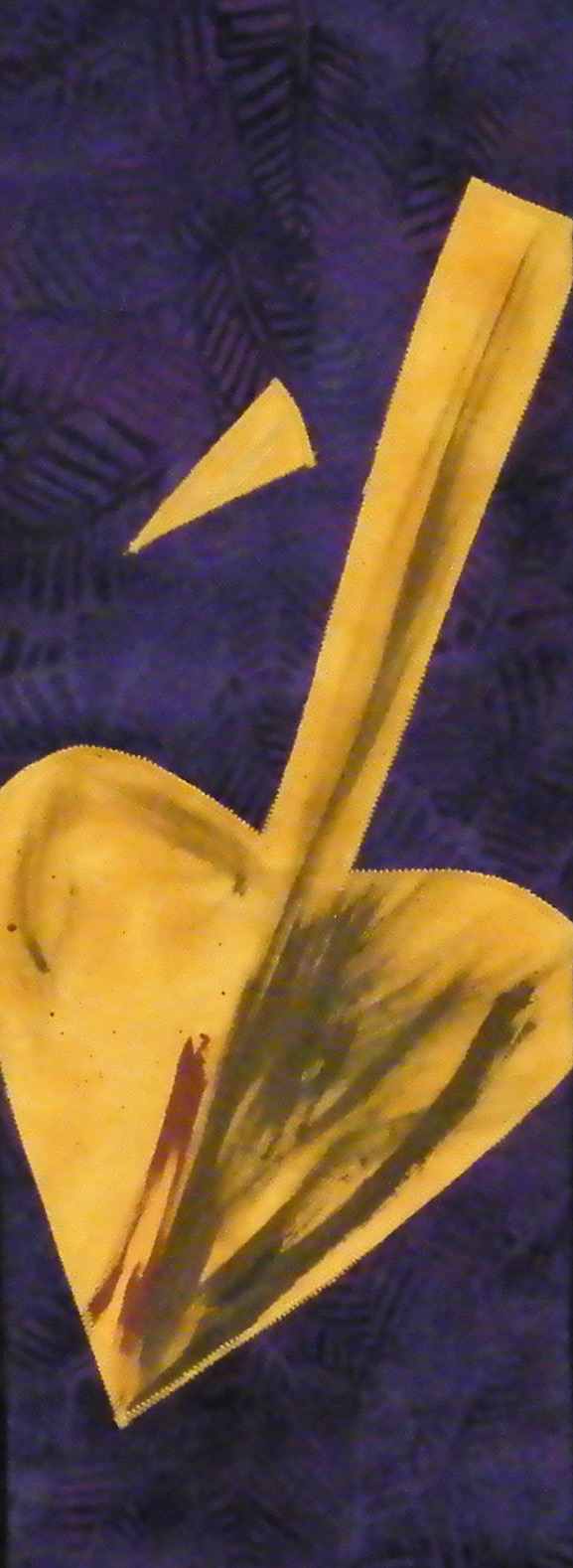 Palm to spear stole - Telling the story of Lent