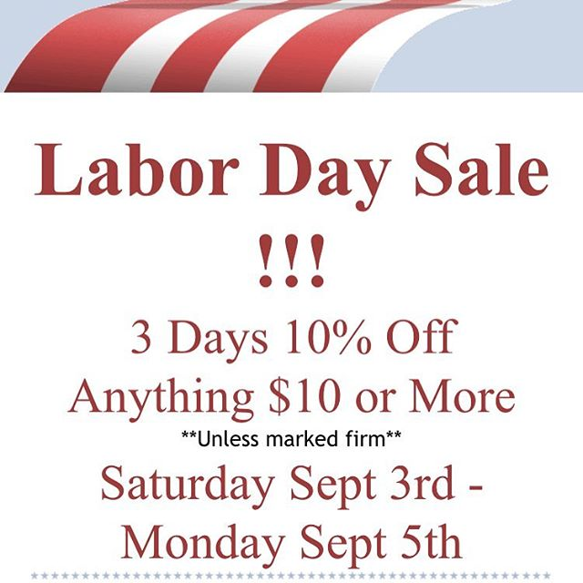 Last day for the Labor Day sale at Antique Attics! @antiqueattics  2789 Middle Country Rd. Lake Grove NY 11755  #thekeytotheattic #antiques #vintage #handmade #handemadejewelry #skeletonkeys #skeletonkeynecklaces #necklaces #bracelets #fishinglures #fishinglurebraclets #brooches #pins #buttons #repurposed #upcycled #housekeys #dogtags #statementspieces #statementnecklaces #wirewrapping #wirewrapped #leathernecklaces