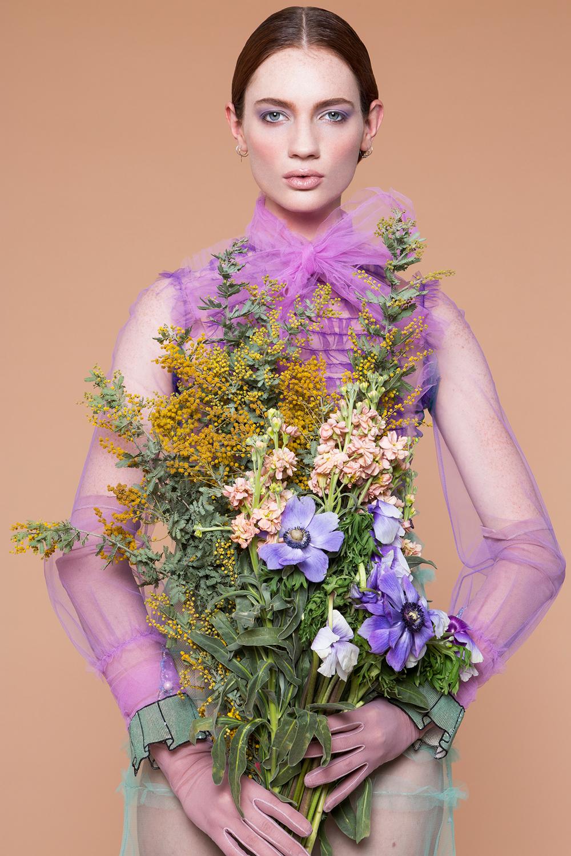 Photographer: Kacie Tomita  Model: Kristin Zakala  Hair: Janine Perrella  Designer: Gucci