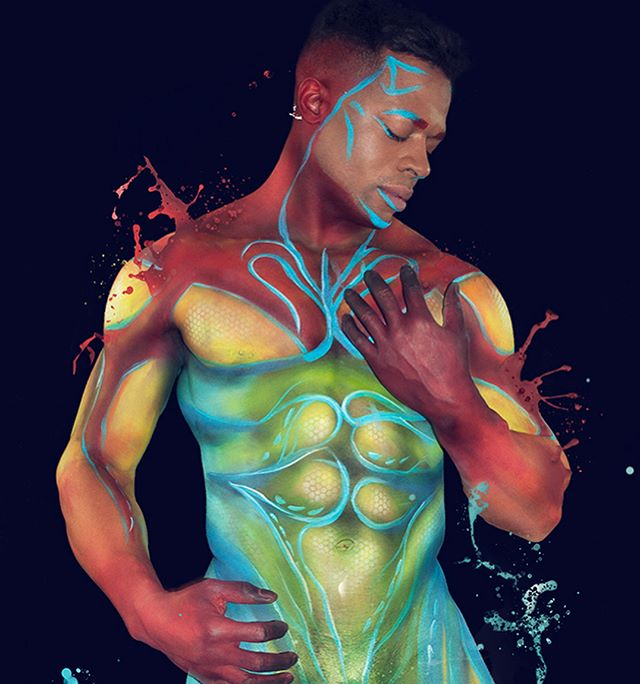 ColorPlay is about letting your beauty show.  Model: @1love1lifeallheart  Body paint and photo by me Products used: @mehronmakeup @proaiirmakeup  #COLORPLAY #bodypaint #mua #nycartist #malemodel #malebody #nudephotography #malebeauty #artisticnude #painter #colorama #splatterpaint #facepaint #nycmodel #sex #colorama #facepaint  #nycmodel #artwork #visualart #masculine #gender #potd #identity #lgbtqa #fineart