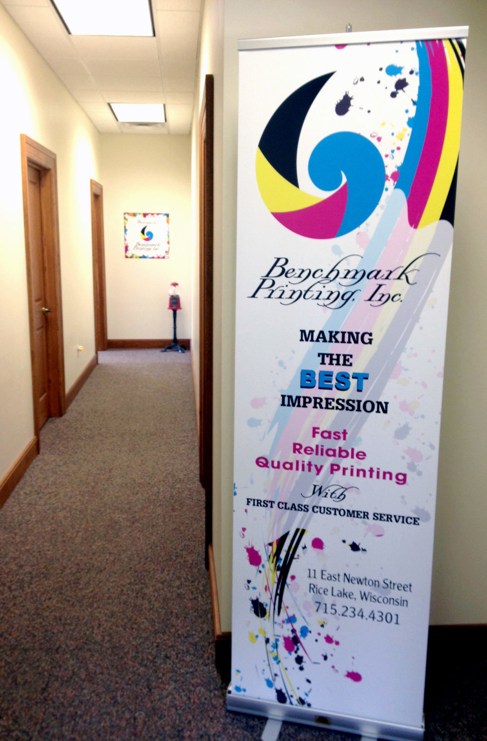 Retractable Banners - Floor or table top available