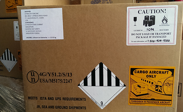 Haz mat packing aa packing crating inc for Ups dangerous goods