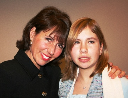 Julie Burnett and her daughter Tracy.