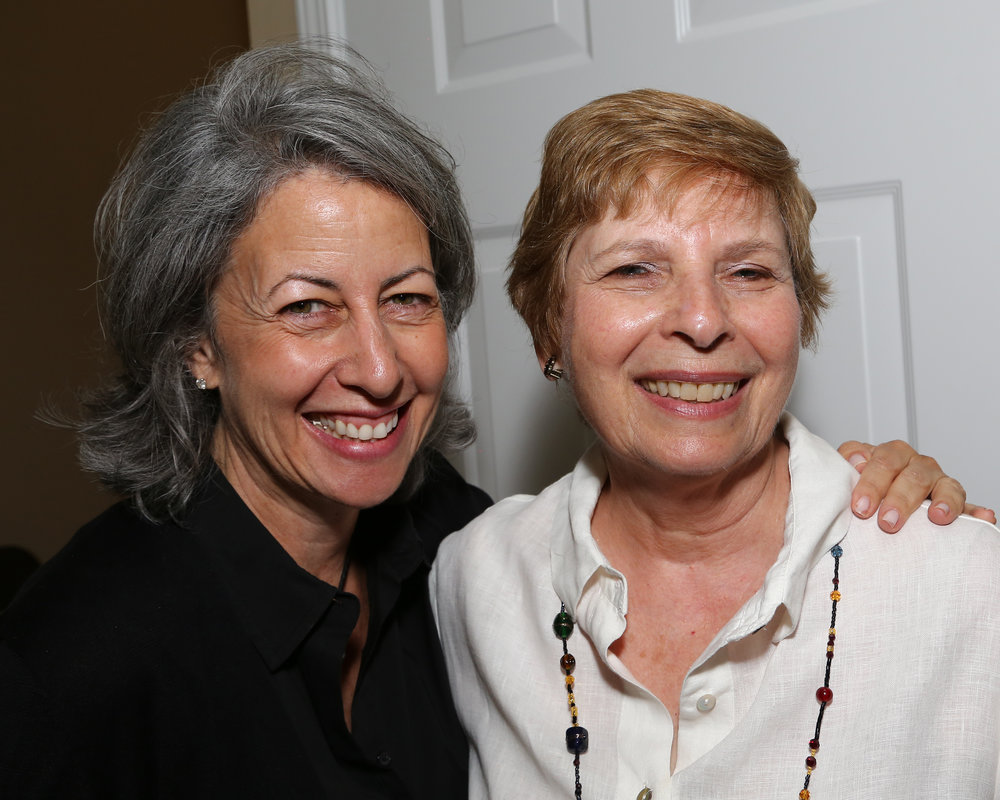 Director Joanne Aronovitz and Executive Committee Member/Past President Sharon Alterman at the 48th Annual Board of Directors Annual Meeting at the Nusbaum Home.