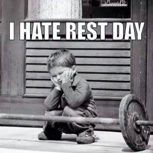 kid rest day