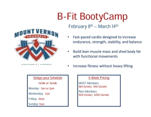 B-Fit Bootie Camp