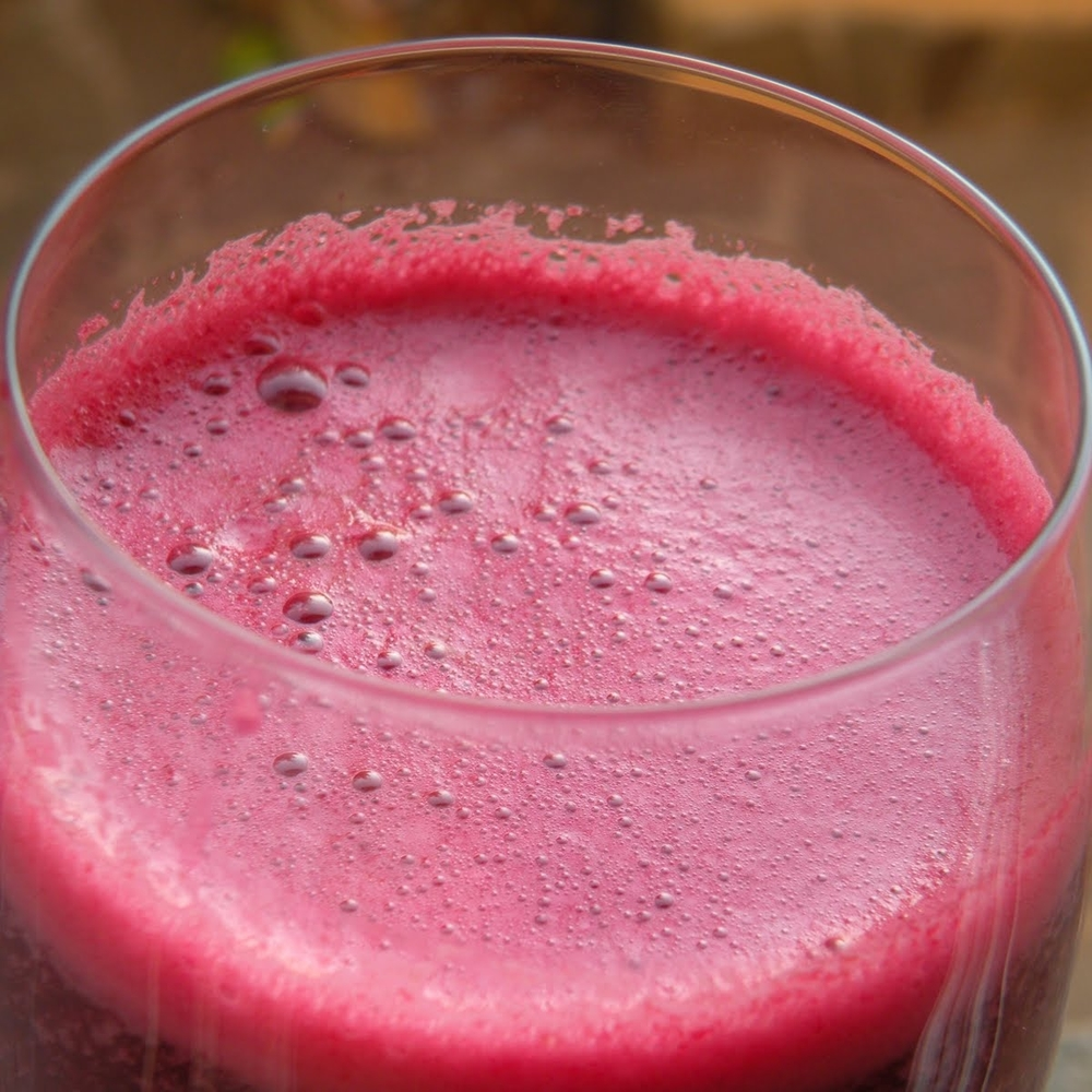 Jicama, Beet And Pear Juice