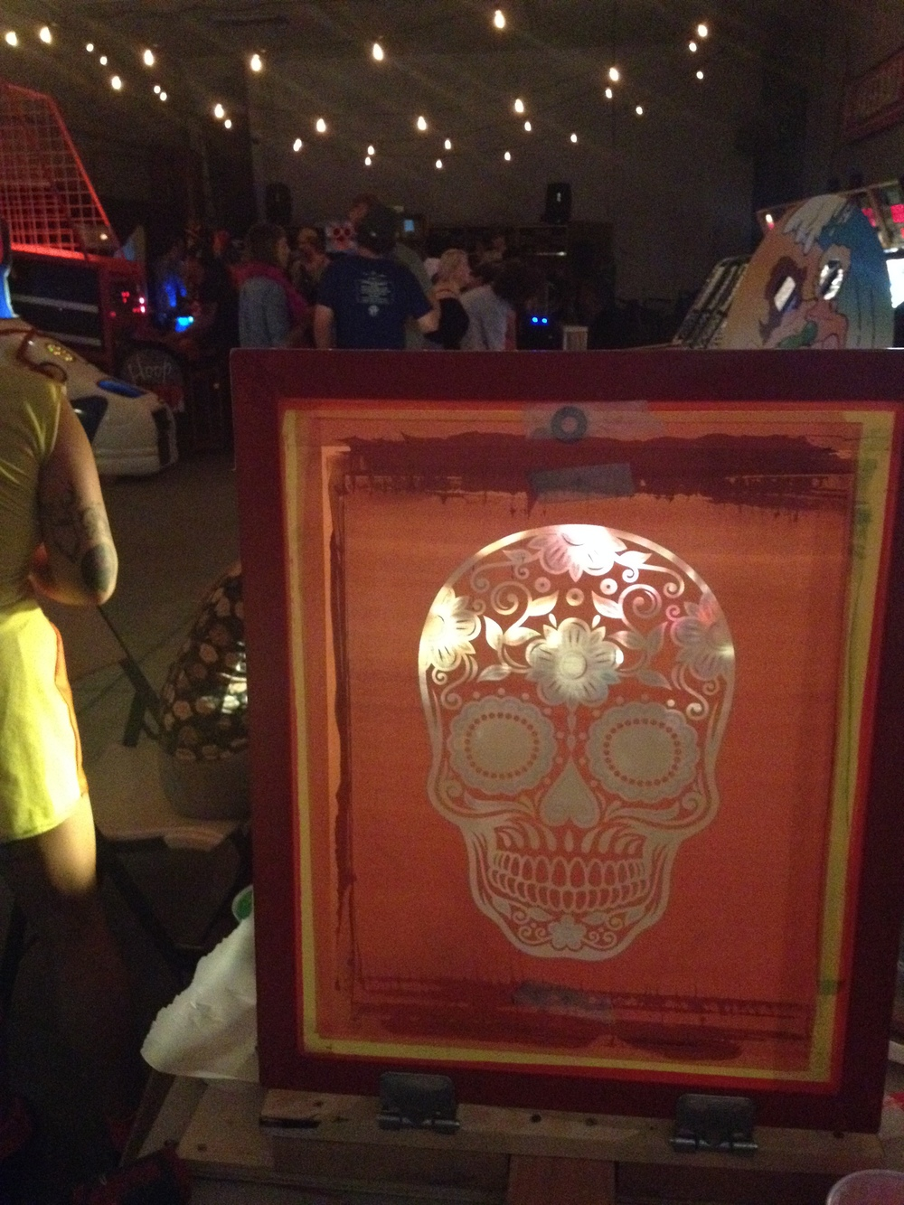Live printing Halloween 2014