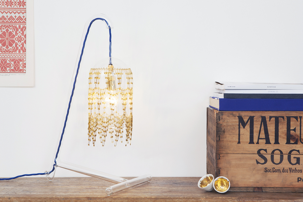 DESK LAMP Brass: FLB-DL