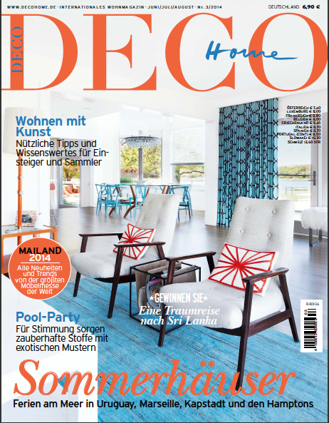 Deco Home, June/ July/ Aug 2014