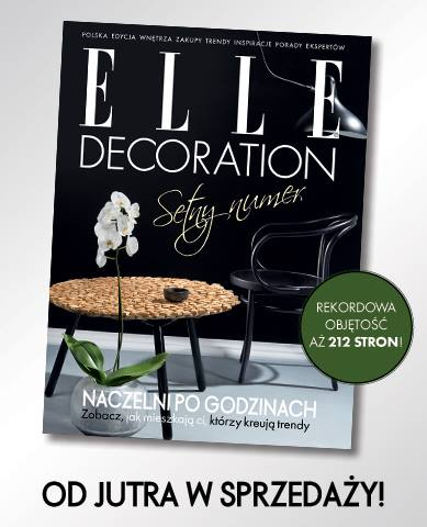 Elle Decoration Poland, November 2015